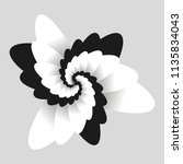 Black And White Optical  Flowe...