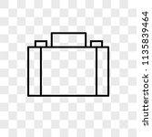 briefcase vector icon on...   Shutterstock .eps vector #1135839464