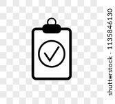 positive verified vector icon... | Shutterstock .eps vector #1135846130