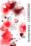 happy valentine's day... | Shutterstock .eps vector #1135850360