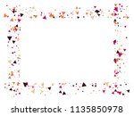 bang  blast  moved particles ... | Shutterstock .eps vector #1135850978