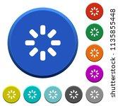 loader symbol round color... | Shutterstock .eps vector #1135855448