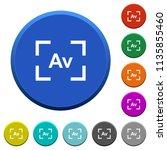 camera aperture value mode... | Shutterstock .eps vector #1135855460