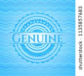 genuine water concept style... | Shutterstock .eps vector #1135857683