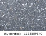 asphalt background texture with ... | Shutterstock . vector #1135859840