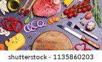 food for every taste | Shutterstock . vector #1135860203