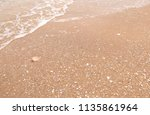 seashore background sea | Shutterstock . vector #1135861964