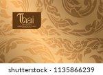 thai art vector | Shutterstock .eps vector #1135866239