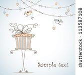 greeting card | Shutterstock .eps vector #113587108