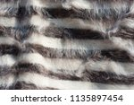 soft hairy woolen textile as... | Shutterstock . vector #1135897454