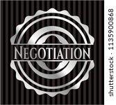 negotiation silver emblem or... | Shutterstock .eps vector #1135900868