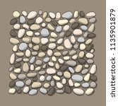 pebble background for your... | Shutterstock .eps vector #1135901879