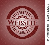 website red emblem. retro | Shutterstock .eps vector #1135912238