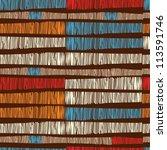 seamless african pattern | Shutterstock .eps vector #113591746