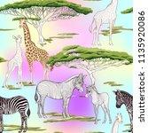 seamless pattern  background ... | Shutterstock .eps vector #1135920086