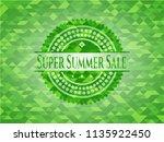 super summer sale realistic... | Shutterstock .eps vector #1135922450