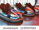 electric bumper cars in...   Shutterstock . vector #1135937063