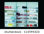 perfume shop   Shutterstock . vector #113594323