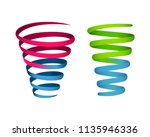 Colorful Spiral Infographic...