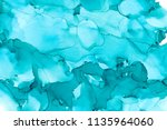 hand painted ink texture.... | Shutterstock . vector #1135964060