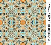 vector seamless ethnic pattern... | Shutterstock .eps vector #1135979420