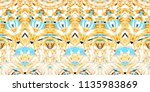 colorful seamless pattern for... | Shutterstock . vector #1135983869