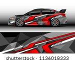 car decal graphic vector  truck ...   Shutterstock .eps vector #1136018333