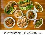 Set Of Thai Food  Stir Fried ...
