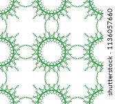 seamless decorative pattern....   Shutterstock .eps vector #1136057660