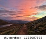 The Path Up Ben Nevis At Sunrise