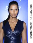 BEVERLY HILLS - SEP 21:  Padma Lakshmi at the 'Variety and Women in Film Pre-Emmy Event' at Scarpetta on September 21, 2012 in Beverly Hills, California - stock photo