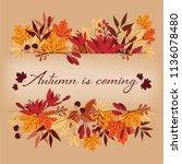 Autumn Background With Autumn...