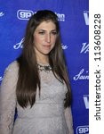 BEVERLY HILLS - SEP 21:  Mayim Bialik at the 'Variety and Women in Film Pre-Emmy Event' at Scarpetta on September 21, 2012 in Beverly Hills, California - stock photo