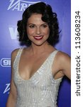 BEVERLY HILLS - SEP 21:  Lana Parrilla at the 'Variety and Women in Film Pre-Emmy Event' at Scarpetta on September 21, 2012 in Beverly Hills, California - stock photo