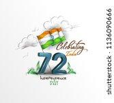 vector illustration for india... | Shutterstock .eps vector #1136090666