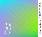 vector bright geometric... | Shutterstock .eps vector #1136101550