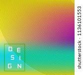 vector bright geometric... | Shutterstock .eps vector #1136101553