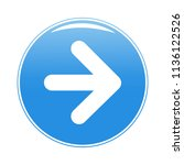 arrow button icon isolated on...