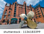 hamburg  germany   june 15 ... | Shutterstock . vector #1136183399