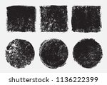 vector grunge stamps.grunge... | Shutterstock .eps vector #1136222399