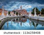 padua. cityscape image of padua ... | Shutterstock . vector #1136258408