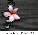 spa life setting frangipani... | Shutterstock . vector #113627254