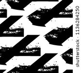 abstract seamless grunge urban... | Shutterstock .eps vector #1136284250