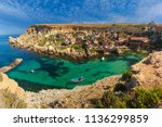 aeril panorama of popeye... | Shutterstock . vector #1136299859