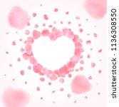 vector background with... | Shutterstock .eps vector #1136308550