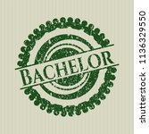 green bachelor with rubber seal ...   Shutterstock .eps vector #1136329550