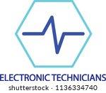 dynamics logo   electronic...   Shutterstock .eps vector #1136334740