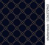 simple geometric motif. flat...   Shutterstock . vector #1136372963