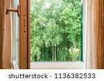 nature landscape with a view... | Shutterstock . vector #1136382533