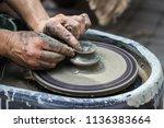 master class on modeling of... | Shutterstock . vector #1136383664